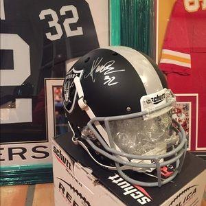 Marcus Allen Autographed Custom Helmet with COA